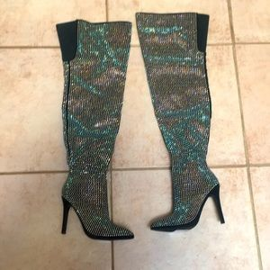 Amazing BLING boots